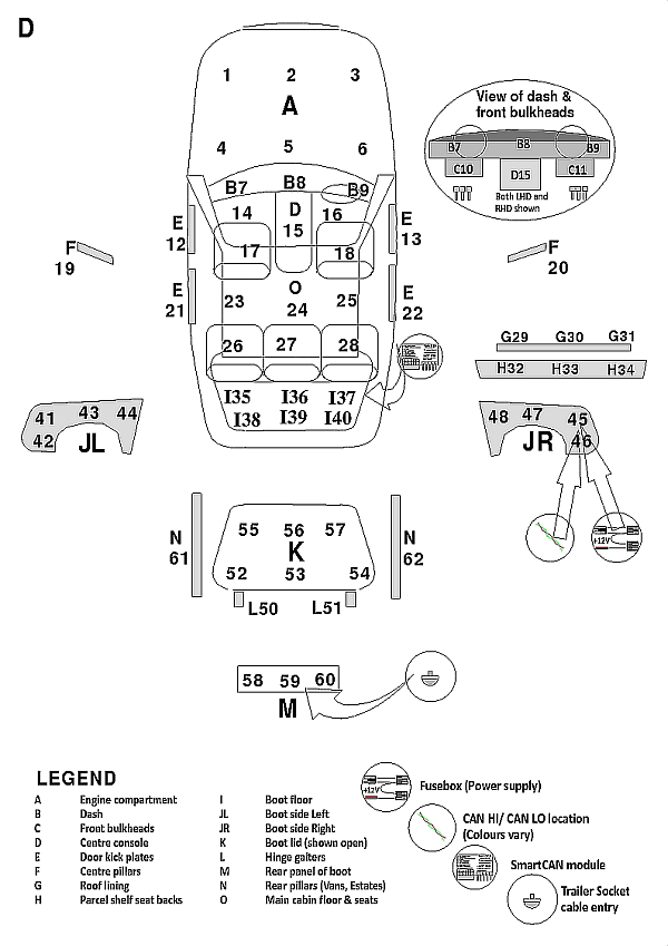 Q7 Awd 2006 on wiring diagram for 13 pin trailer socket