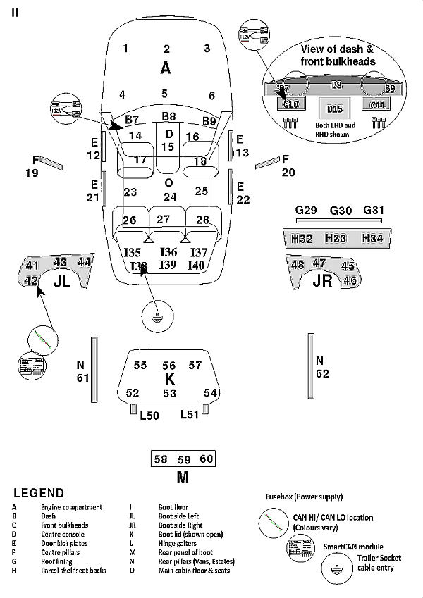 Wiring Diagram For Citroen C3